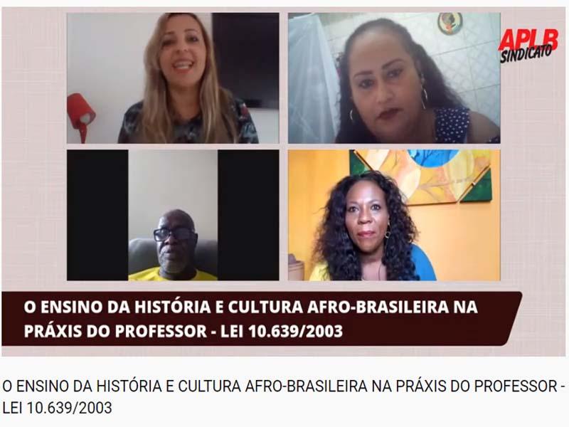 O ENSINO DA HISTÓRIA E CULTURA AFRO-BRASILEIRA NA PRÁXIS DO PROFESSOR - LEI 10.639/2003