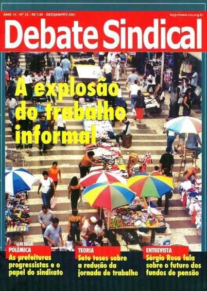 Revista Debate Sindical - Nº 36