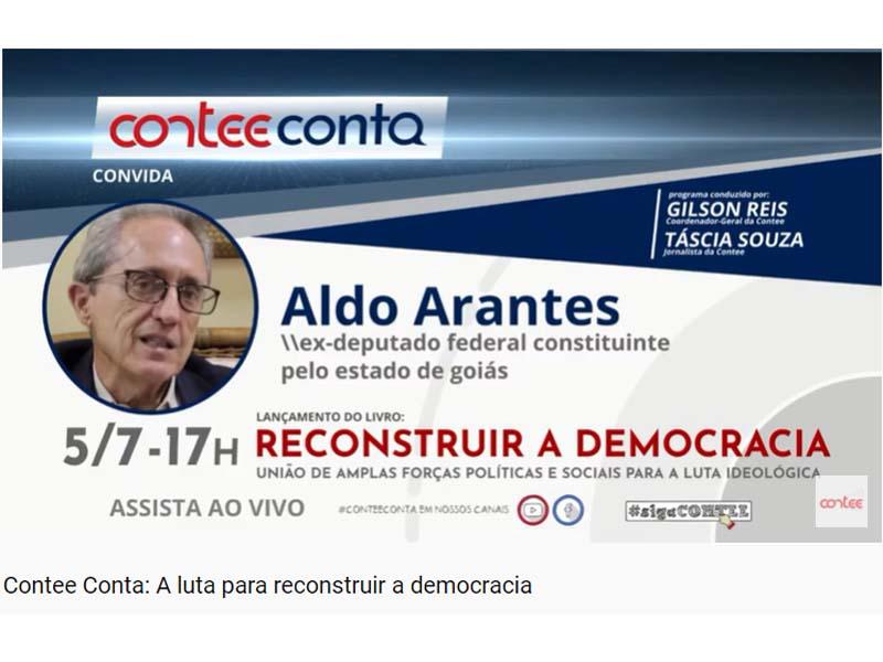 Contee Conta: A luta para reconstruir a democracia