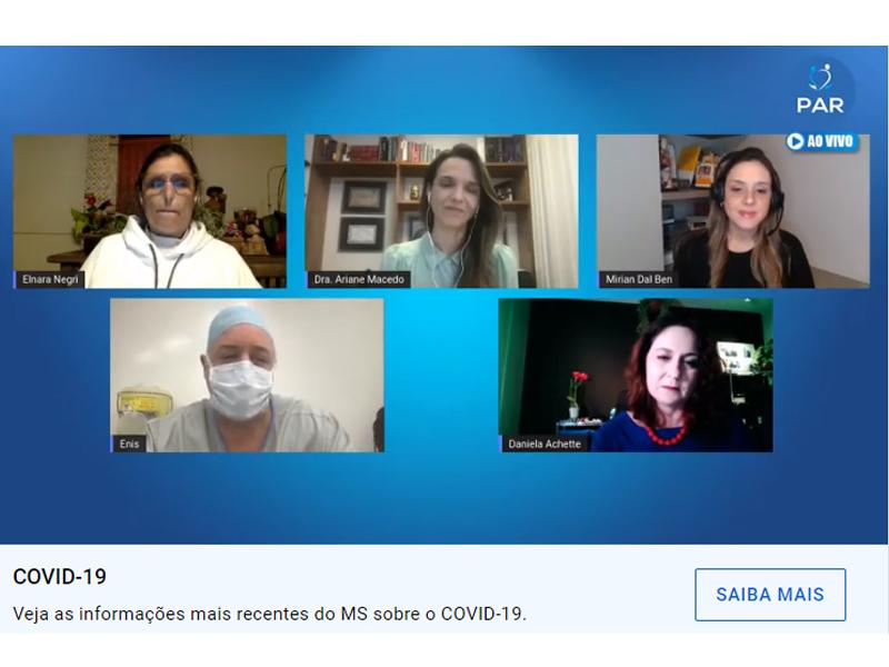 Covid-19: mulheres da saúde avaliam as diversas faces da doença
