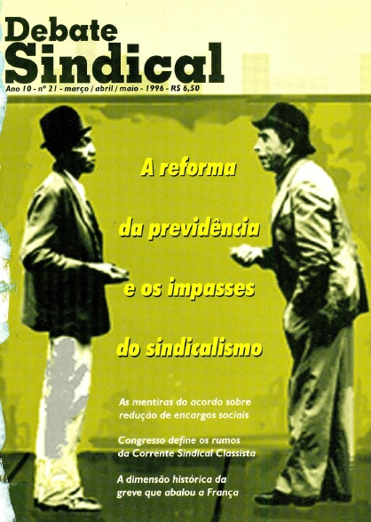 Revista Debate Sindical   nº21
