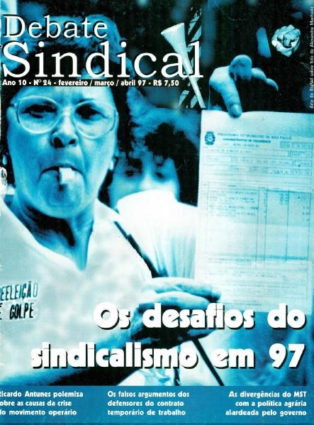 Revista Debate Sindical   nº24